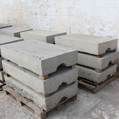 Concrete Block Caps