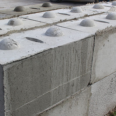 Concrete Half Blocks Products
