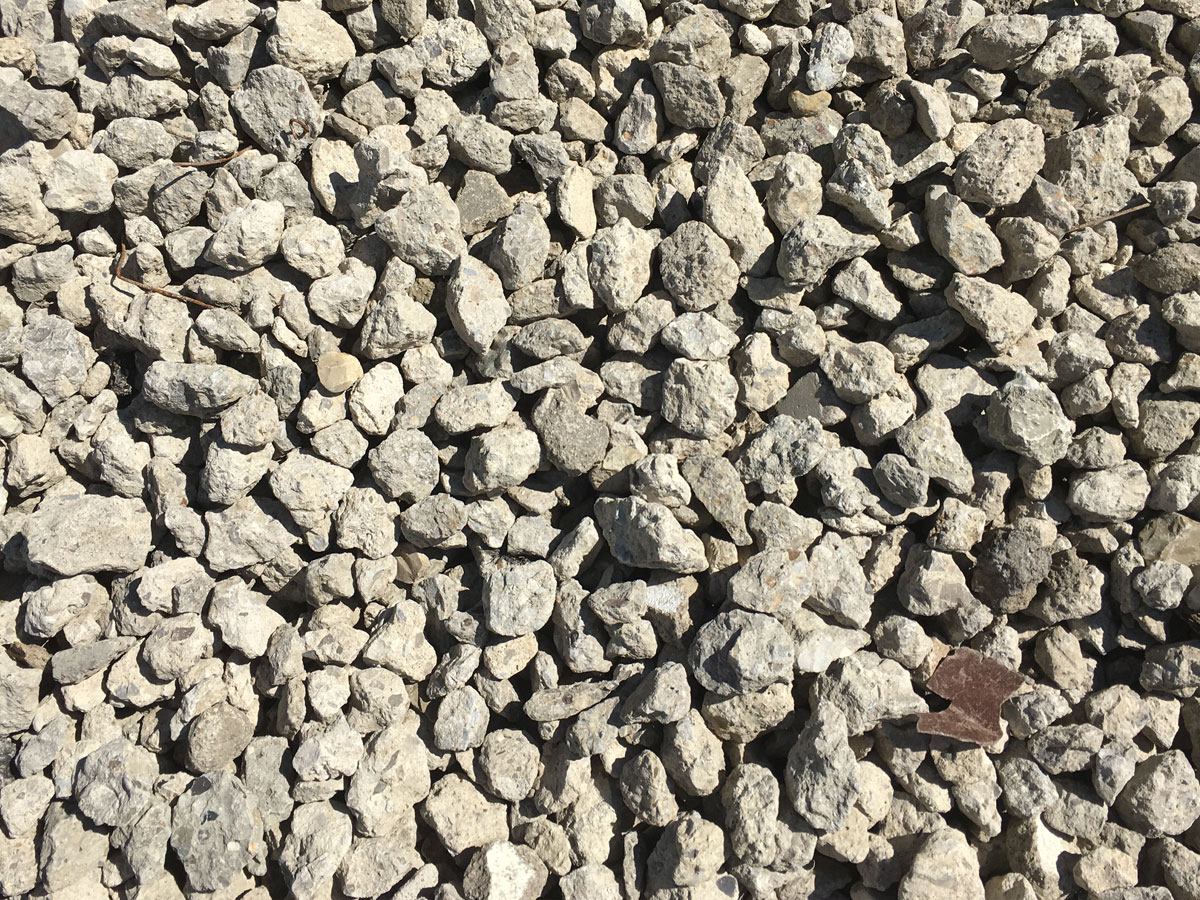 Crushed 2s Stone Concrete