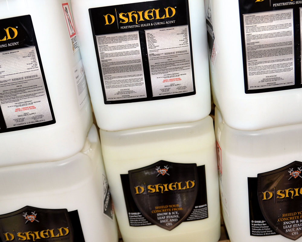 D Shield Concrete Sealer Curing Agent